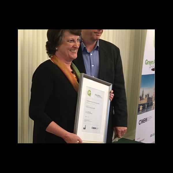 Catherine Bearder MEP of the year 2016