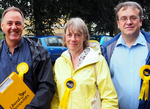 Sally Symington and friends canvassing 2016