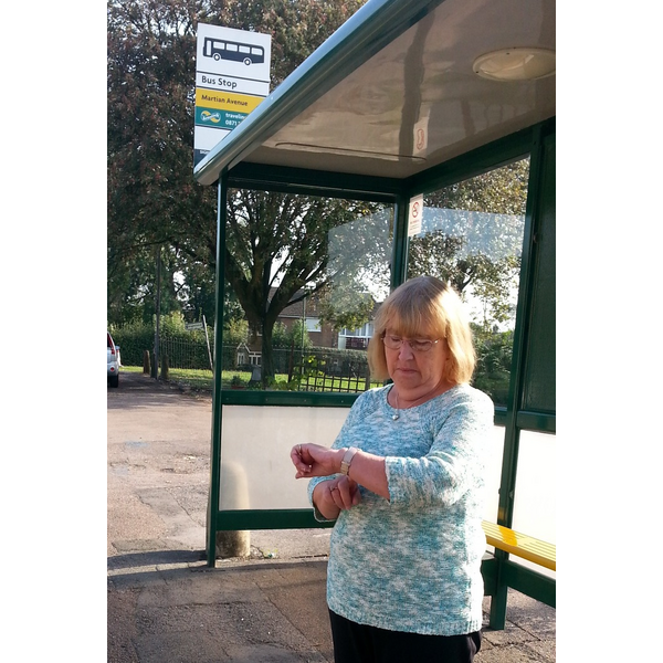 Brenda Bus stop