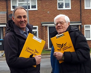 Adrain & Ron - canvassing