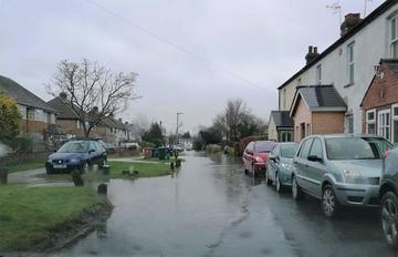 Flooding on Bullens Green Lane