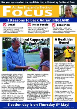Adrian's 2021 Election Focus